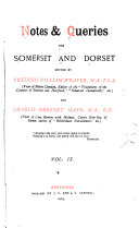 Notes and Queries for Somerset and Dorset