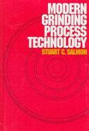 Modern Grinding Process Technology