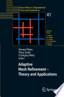 Adaptive Mesh Refinement   Theory and Applications