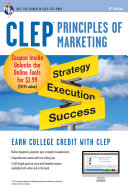 CLEP® Principles of Marketing Book + Online