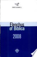 Elenchus Of Bibilica : ...