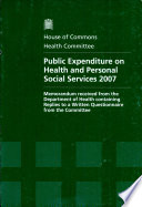 Public Expenditure On Health And Personal Social Services 2007