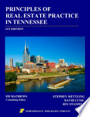 Principles Of Real Estate Practice In Tennessee