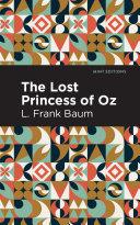 The Lost Princess of Oz Book