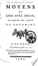 Moyens de lire avec fruit