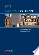 Bauphysik Kalender 2013