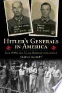 Hitler S Generals In America