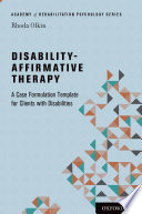 Disability Affirmative Therapy