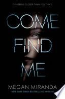 Come Find Me Book PDF
