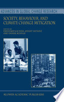 Society, Behaviour, And Climate Change Mitigation : by the world meteorological organization (wmo) and the...