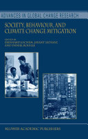 Society, Behaviour, and Climate Change Mitigation