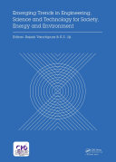 Emerging Trends in Engineering, Science and Technology for Society, Energy and Environment