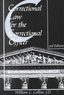 Correctional Law for the Correctional Officer