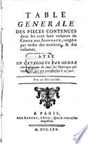 Nouveau choix de pièces tirées des anciens Mercures, et des autres journaux