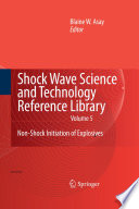 Shock Wave Science and Technology Reference Library  Vol  5