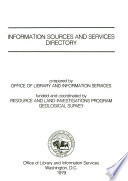 Information sources and services directory