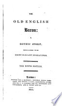 The old English baron  by C  Reeve