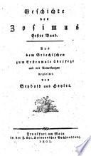Geschichte aus dem Griechischen zum erstenmale   bers  und mit Anm  begleitet von Seybold und Heyler