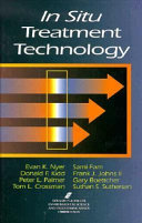 In Situ Treatment Technology Second Edition book