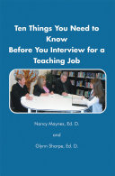 download ebook ten things you need to know before you interview for a teaching job pdf epub