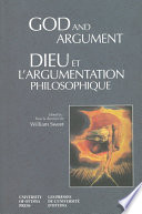 God and Argument   Dieu et l argumentation philosophique