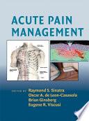 Acute Pain Management