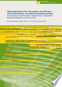 Wirtschaftsinformatik  Konzeption und Planung eines Informations  und Kommunikationssystems