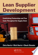 Lean Supplier Development