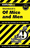 CliffsNotes on Steinbeck s Of Mice and Men