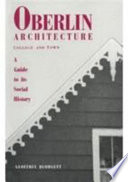 Oberlin Architecture, College and Town