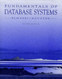 FUNDAMENTALS OF DATABASE SYSTEMS. Edition en anglais, 2nd edition