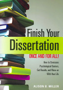 Finish Your Dissertation Once and for All