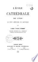 L   cole cath  drale de Lyon