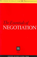 The Essentials of Negotiation