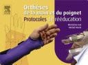 illustration Orthèses de la main et du poignet. Protocoles de rééducation