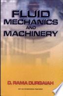 Fluid Mechanics And Machinery