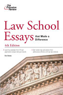 Law School Essays that Made a Difference  4th Edition
