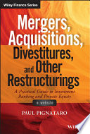 Mergers  Acquisitions  Divestitures  and Other Restructurings