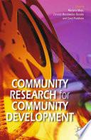 Community Research for Community Development