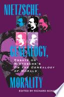 Nietzsche  Genealogy  Morality
