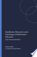 Handbook of Research on the Psychology of Mathematics Education