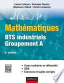 Mathématiques BTS industriels-groupement A