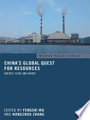 China s Global Quest for Resources
