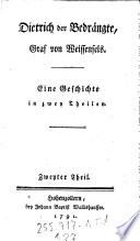 Dietrich der Bedrängte, Graf von Weissenfels