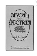 Beyond the spectrum