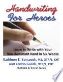 Handwriting For Heroes