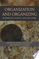 Organization and Organizing