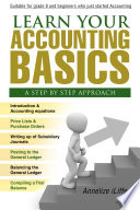 Learn your Accounting Basics   A step by step approach  Junior High School and beginners