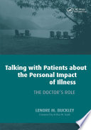 Talking With Patients About The Personal Impact Of Ilness