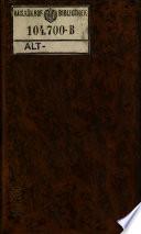 Journal der practischen Arzneykunde und Wundarzneykunst hrsg. von C(hristoph) W(ilhelm) v. Hufeland